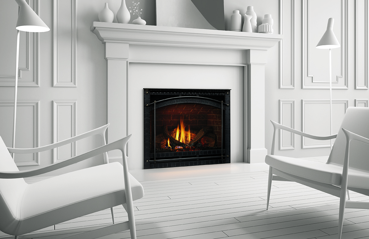 Heat & Glo SlimLine Gas Fireplaces fit where others won