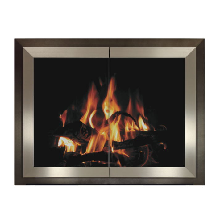 Stoll Alliance Collection Tribeca Fireplace Doors