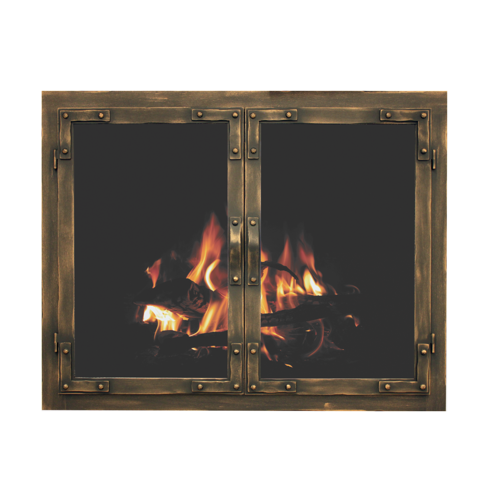 Stoll Craftsman Collection Old World Fireplace Doors