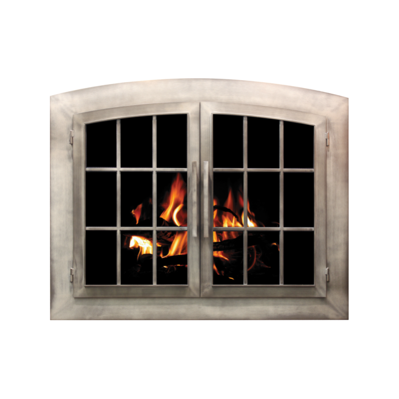 Stoll Industrial Collection Industrial Fireplace Door 2