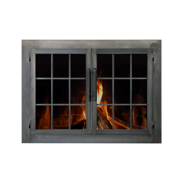 Stoll Industrial Collection Industrial Fireplace Door