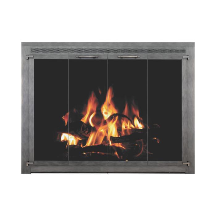 Stoll Original Collection Original Iron Fireplace Doors 1