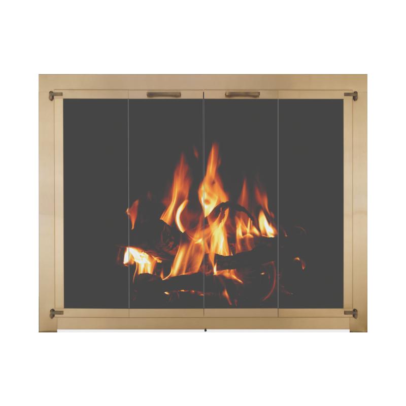 Stoll Original Collection Original Iron Fireplace Doors 2