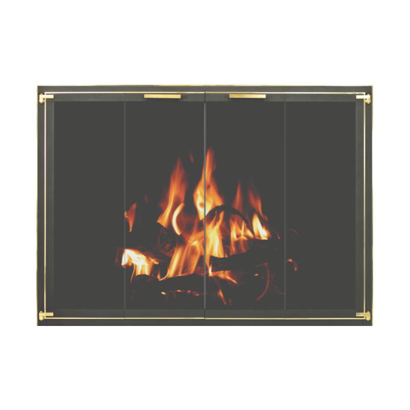 Stoll Original Collection Original Iron Fireplace Doors 3