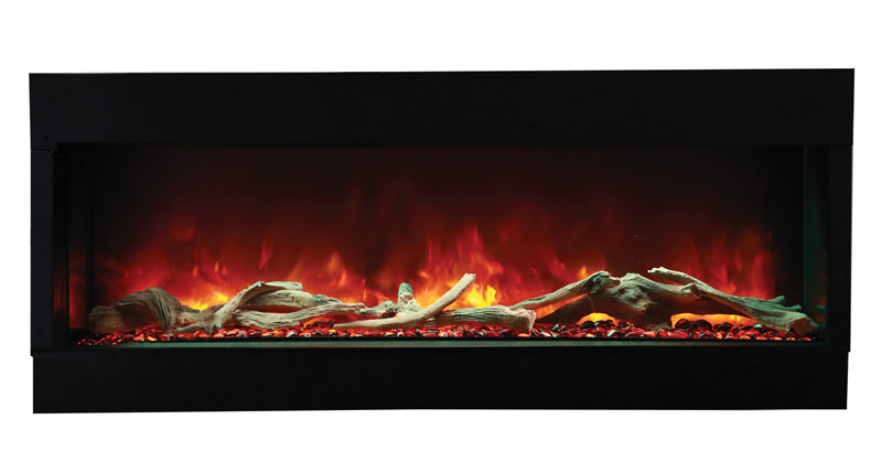 Amantii 60 Tru View Xl 3 Sided Electric Fireplace