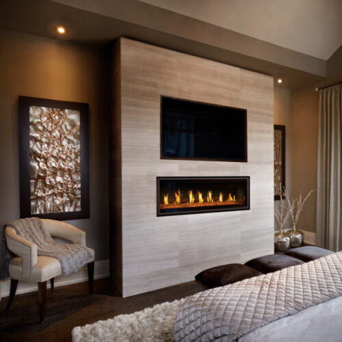 Vector LV50 2 contemporary bedroom with DHC television 1 1