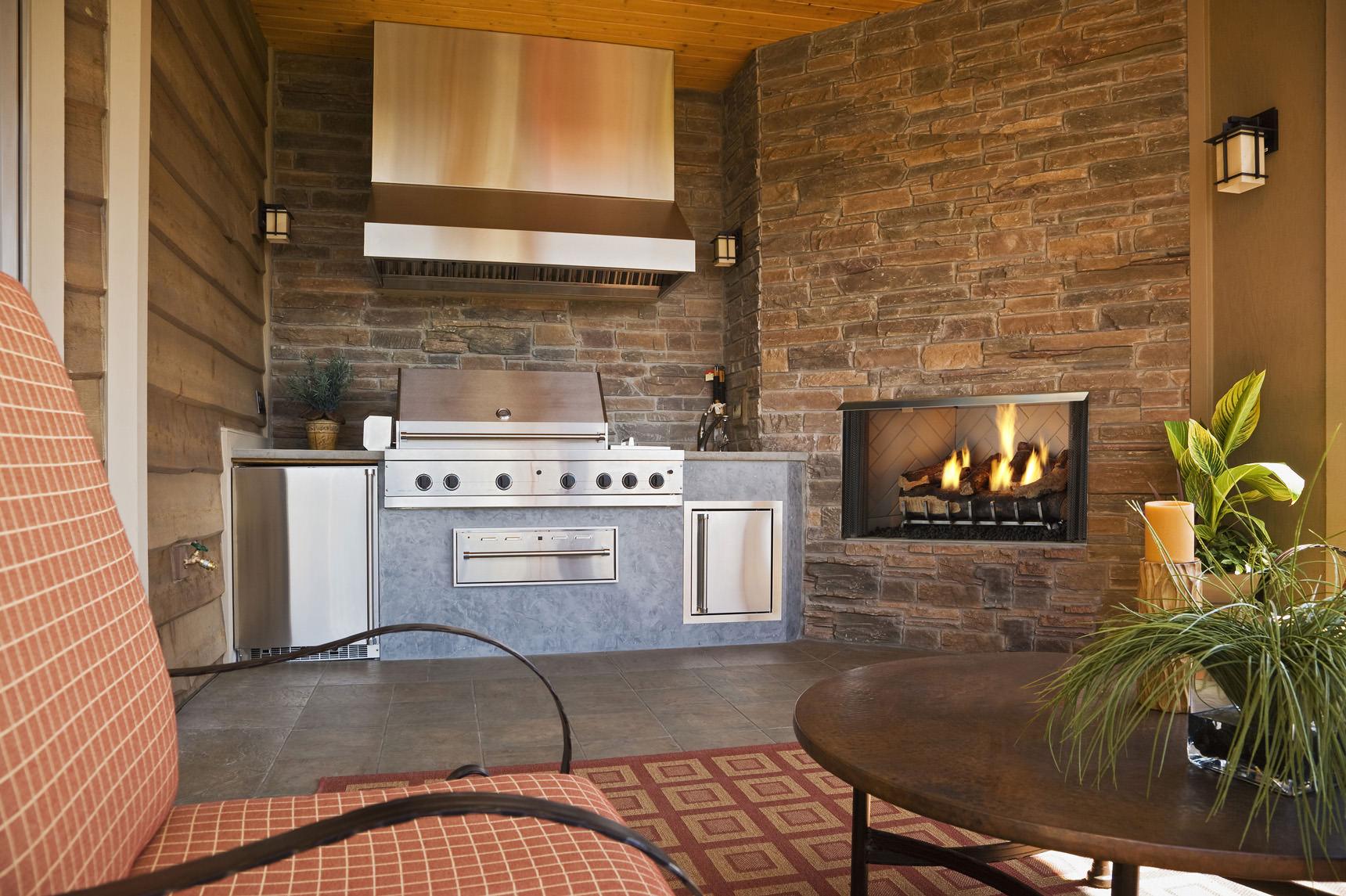 Heatilator Villa 36 Amp 42 Outdoor Gas Fireplace H2oasis