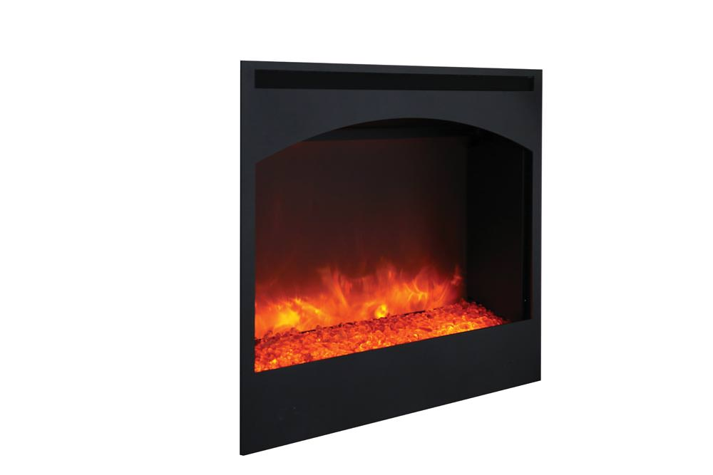 Amantii Zecl 31 3228 Stl Arch Zero Clearance Electric Fireplace H2oasis