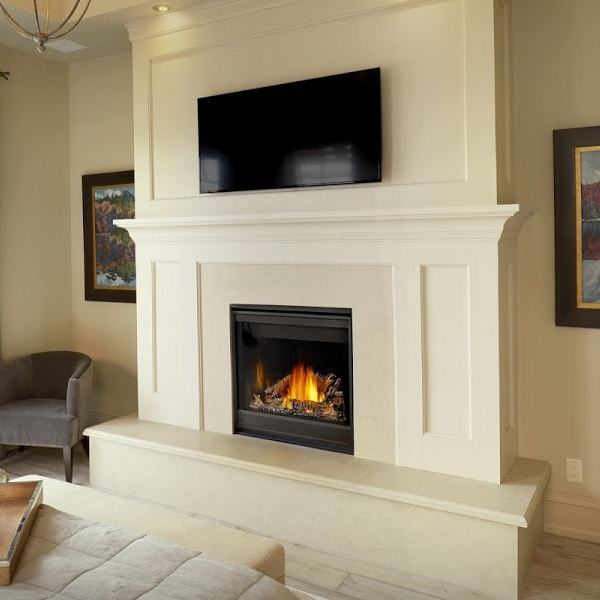 Ascent X 36 gas fireplace