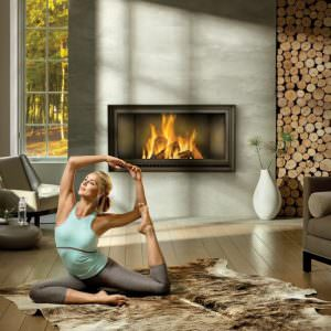 High Country 7000 Wood Fireplace