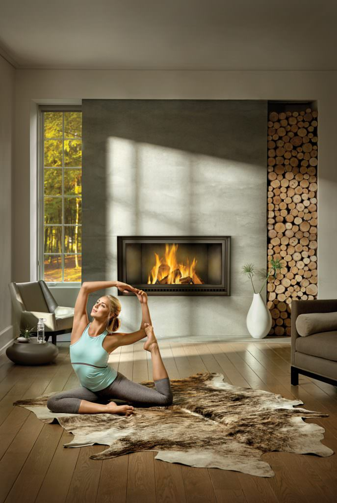 Napoleon High Country 7000 Wood Fireplace H2oasis