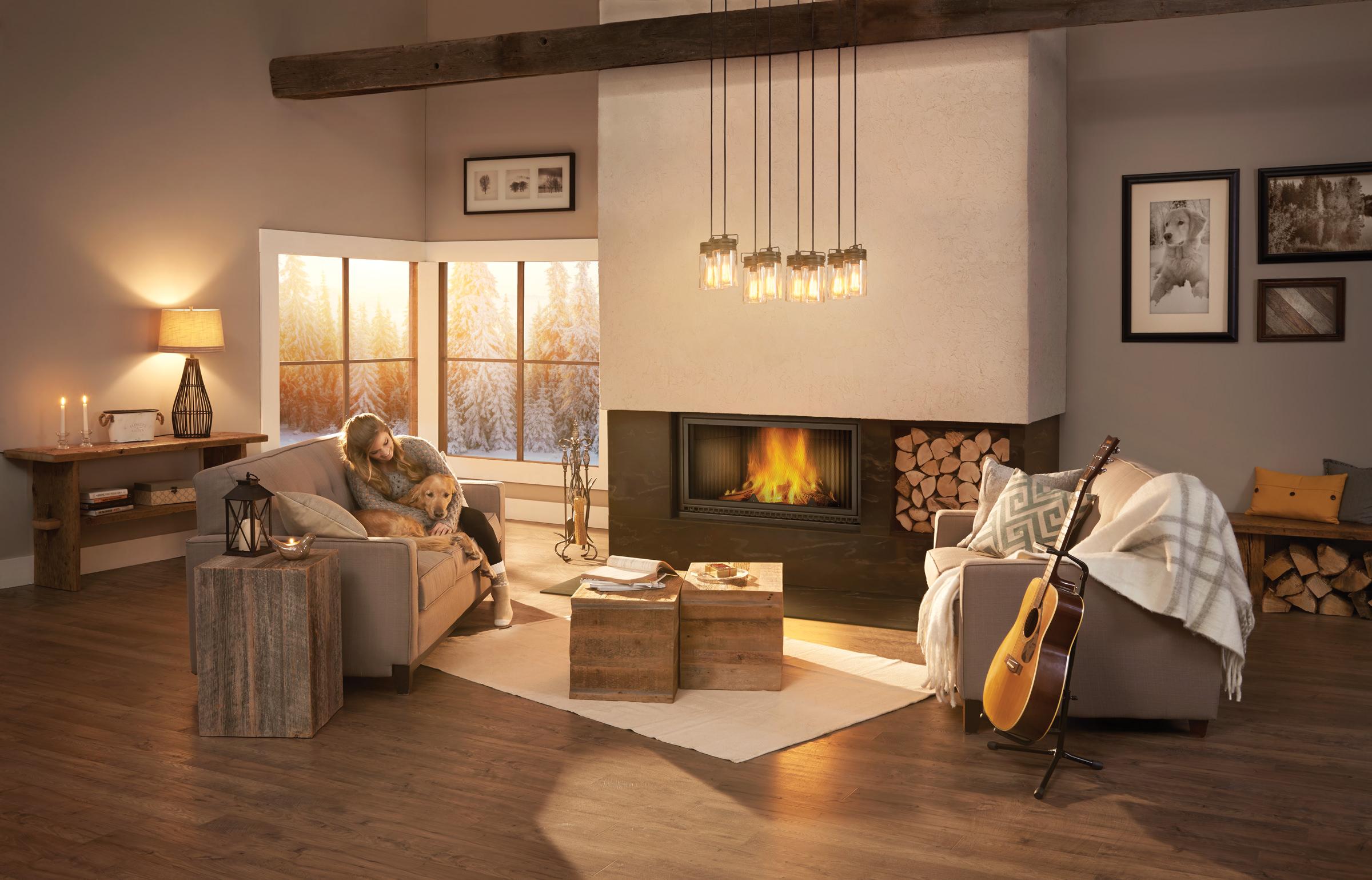 Napoleon U2013 High Country 7000 Wood Fireplace. ; 