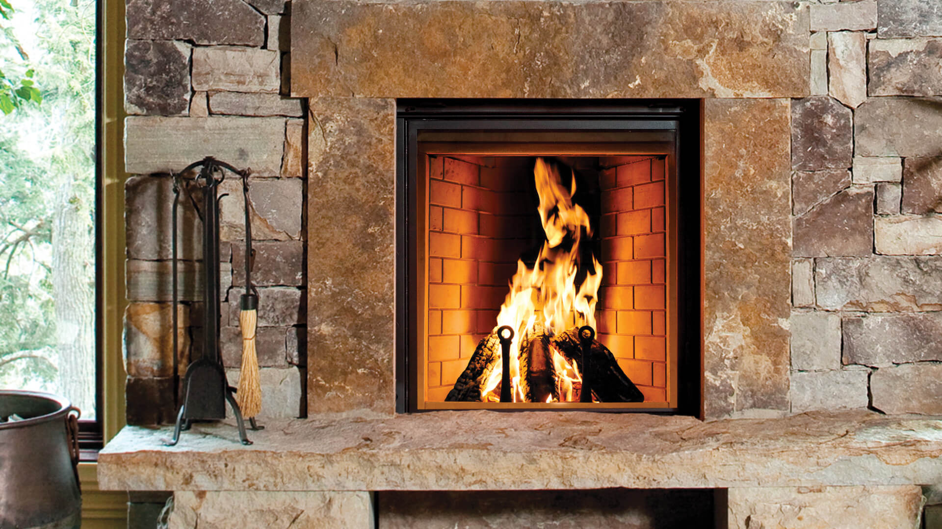 Renaissance Fireplaces Rumford 1000 Wood Burning