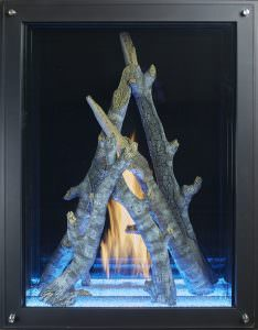 "36"" x 48"" Maestro Davinci Custom Gas Fireplace"