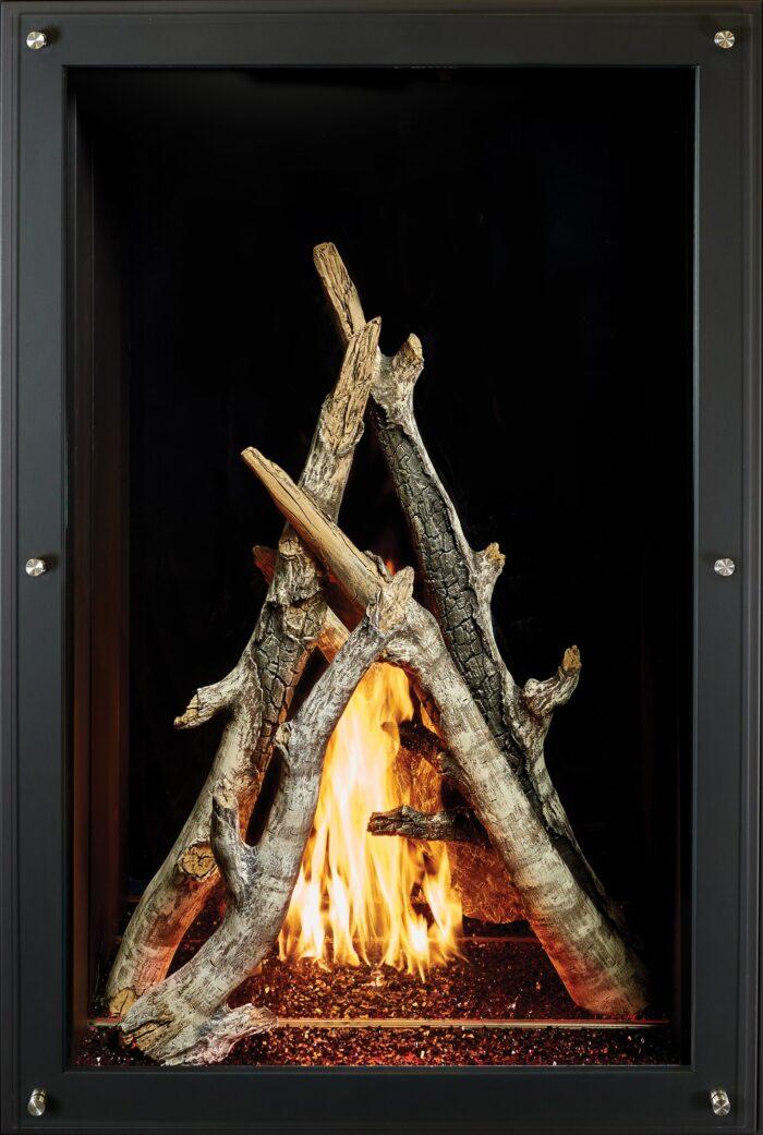 "36"" x 58"" Maestro Davinici Custom Gas Fireplace"
