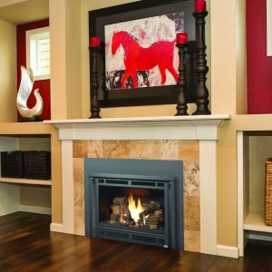 Lopi Radiant Plus Large gas fireplace