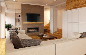 ProBuilder 42 Linear gas fireplace