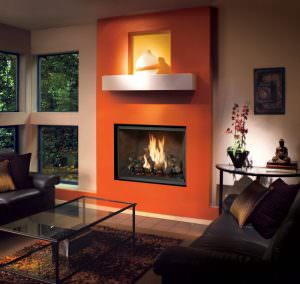 FireplaceX 864 TV 40K Clean Face Gas Fireplace 2