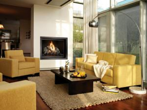 FireplaceX 864 TV 40K Clean Face Gas Fireplace 3