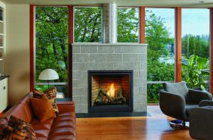 FireplaceX Probuilder 36 Clean Face Gas Firep