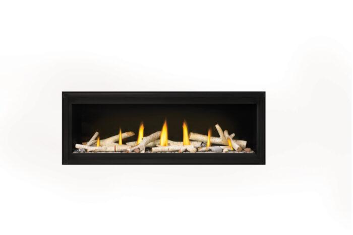 Napoleon Luxuria 50 LVX50-Birch-Logs-Shore-Fire
