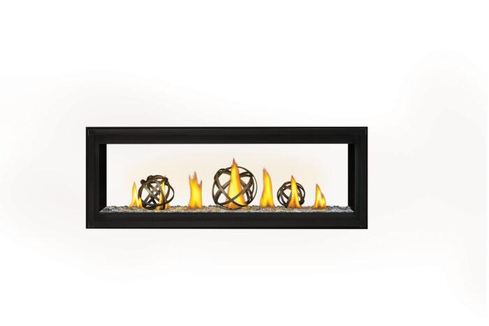 Napoleon Luxuria 50 See-Thru LVX50ST-Wrought-Iron-Globes-Glass-Beads