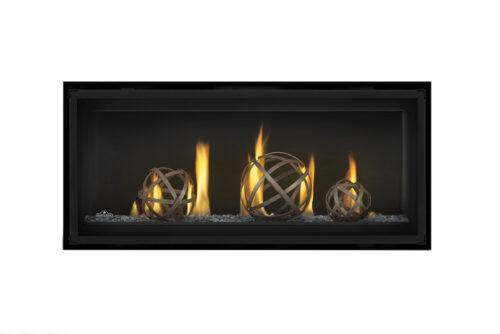 Napoleon Luxuria-LVX38-Wrought Iron Globe-GlassBeads