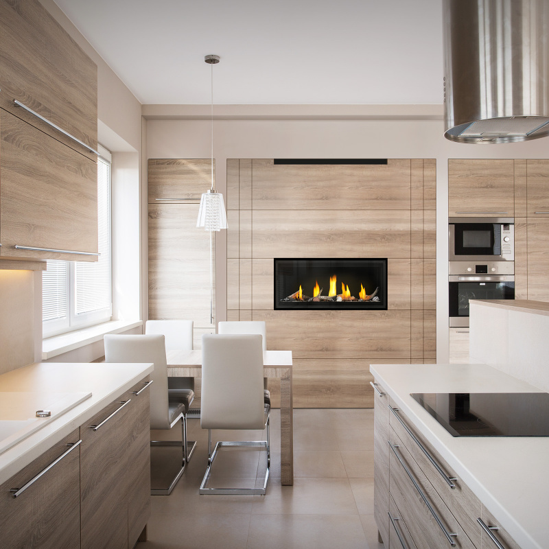 Luxuria LVX38 Roomset Straight Kitchen 1