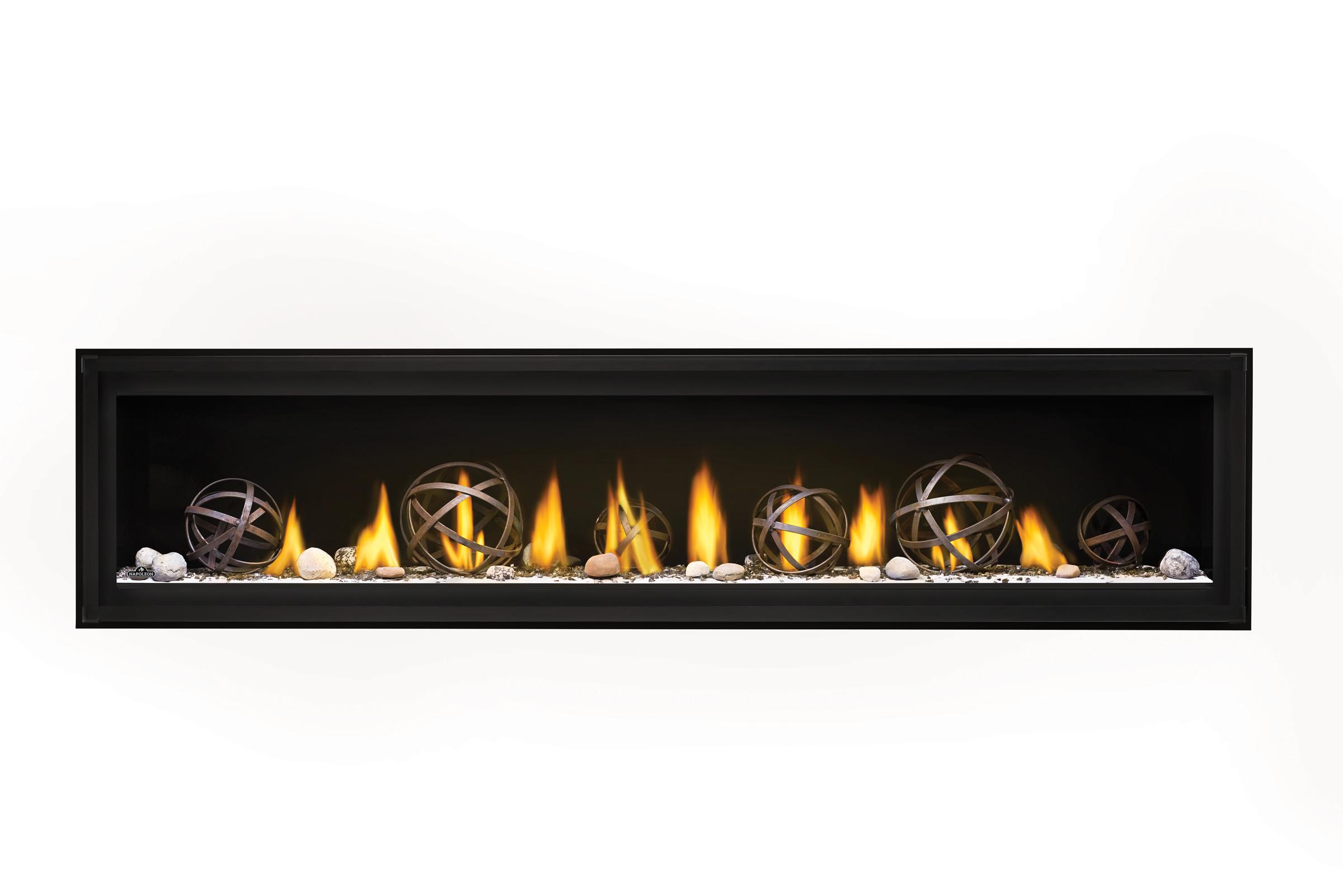 Napoleon Luxuria-LVX74-Wrought-Iron-Globes-Shore-Fire