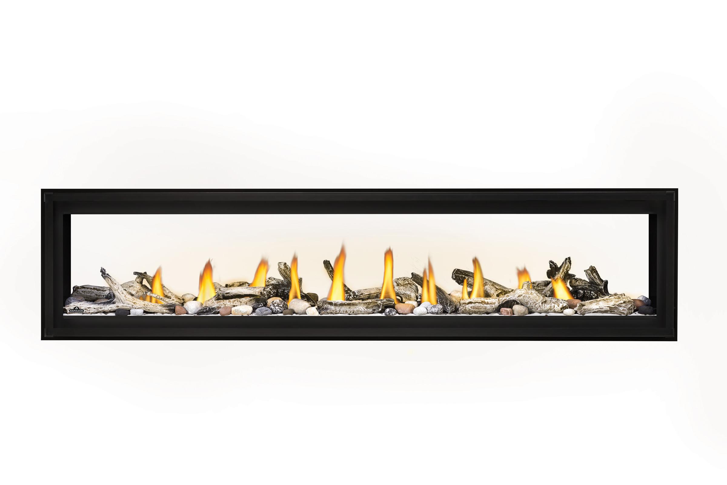 Napoleon Luxuria-LVX74 See Thru-Mineral-Rock-Shore-Fire-Beach-Fire