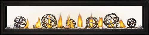 Napoleon Luxuria-LVX74 See Thru-Wrought-Iron-Globes-Shore-Fire