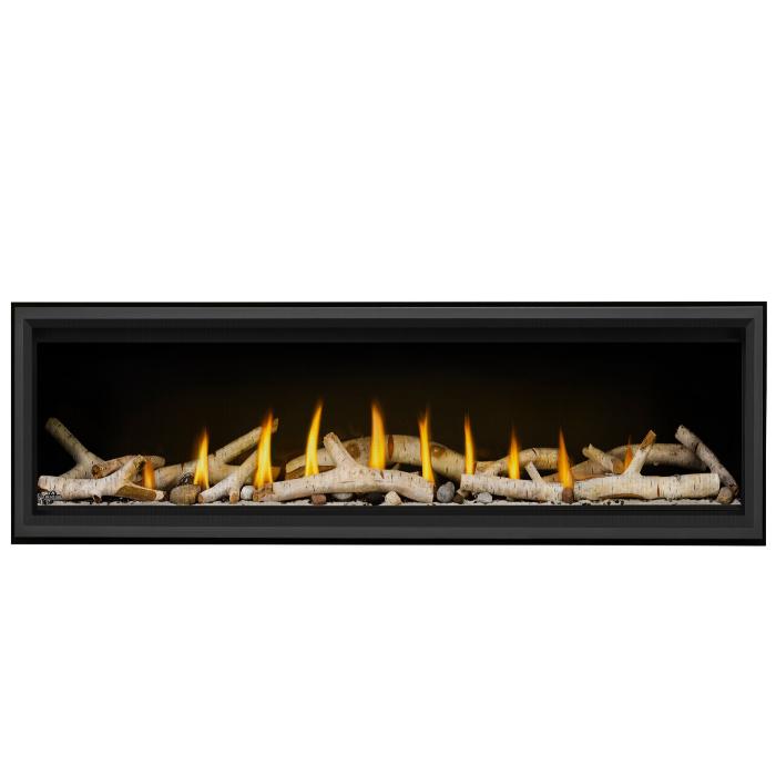 Vector LV74 Birch Logs Shore Fire Black Premium Safety Barrier 1