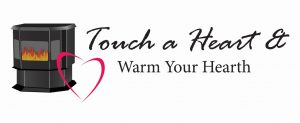 Touch a Heart & Warm Your Hearth Logo