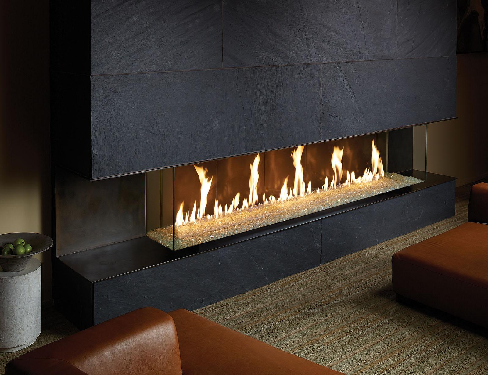 Davinci Gas Fireplace Bay 72x12 109137