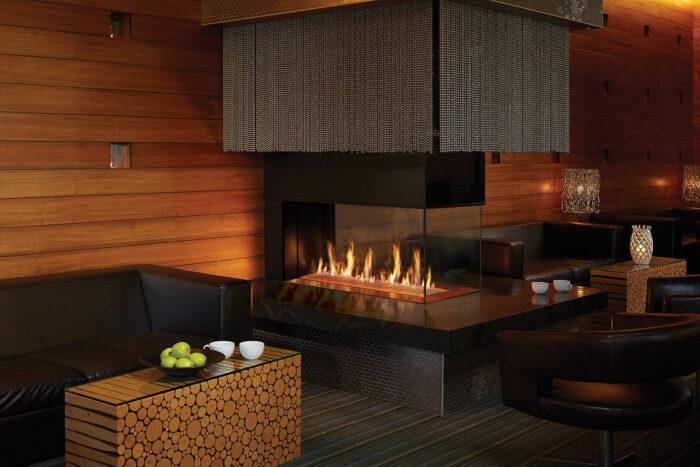 Davinci Gas Fireplace Pier 54x20 109141
