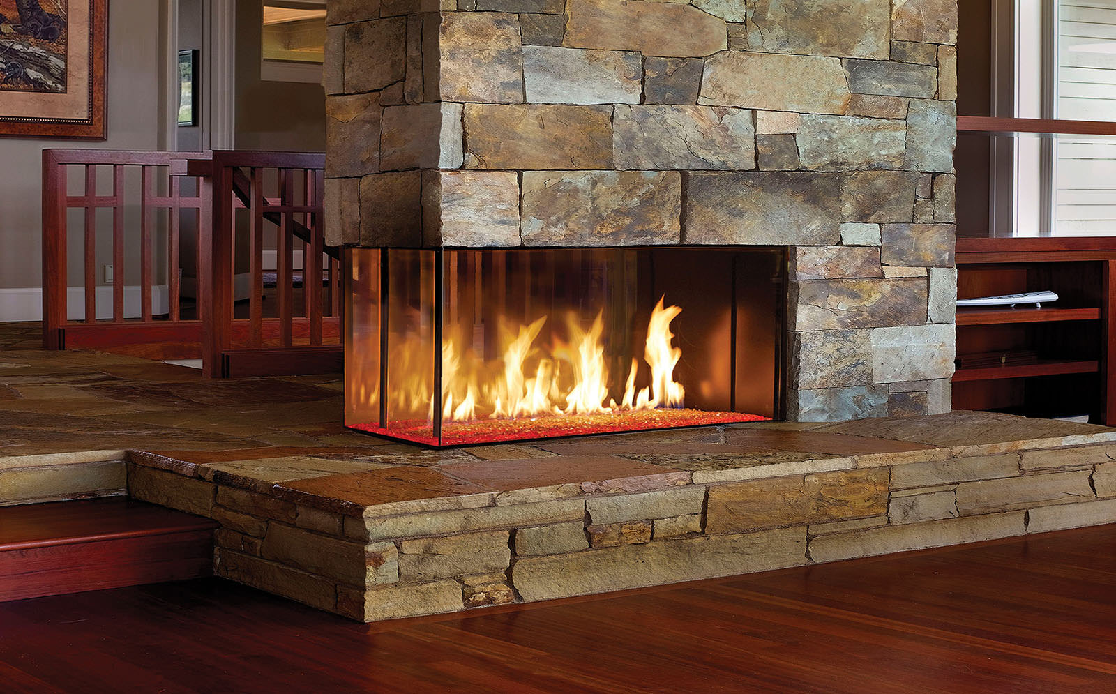 Davinci Gas Fireplace Pier 54x20 109142