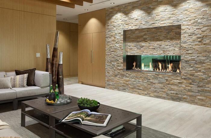 Davinci Gas Fireplace See-Thru 72x20 109337