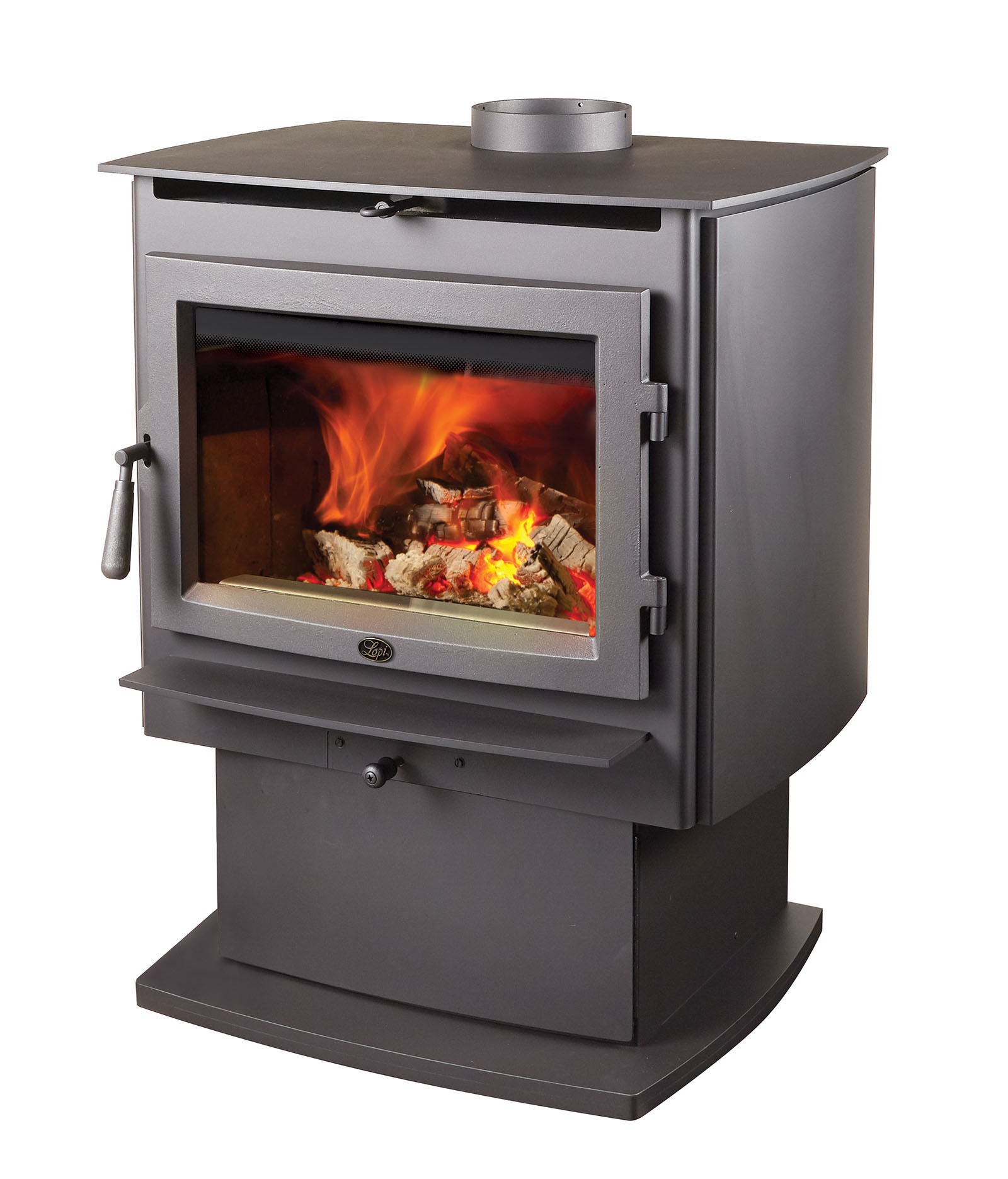 lopi - evergreen wood stove