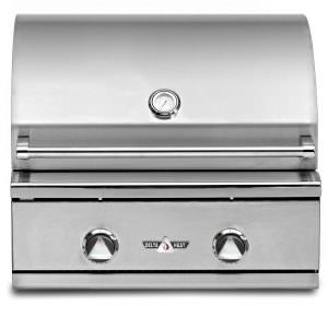 "Delta Heat Premier 26"" Outdoor Built-In Gas Grill - DHBQ26R- C - Closed"