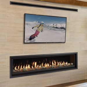 ProBuilder 72 Linear gas fireplace