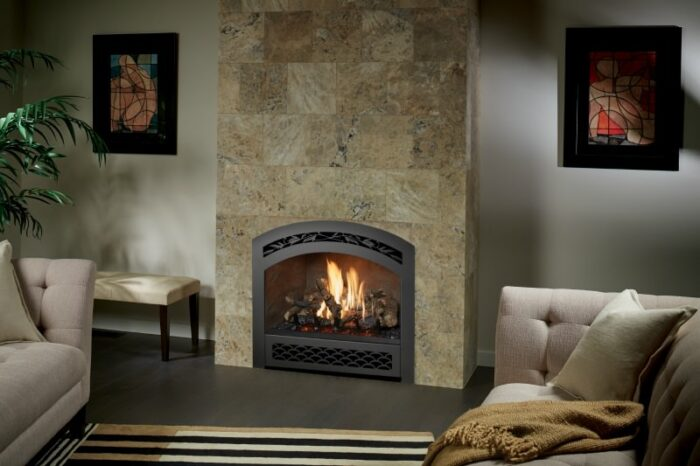 864 TV 40K Gas Fireplace