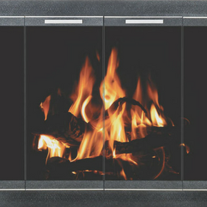 Masonary Fireplace Doors
