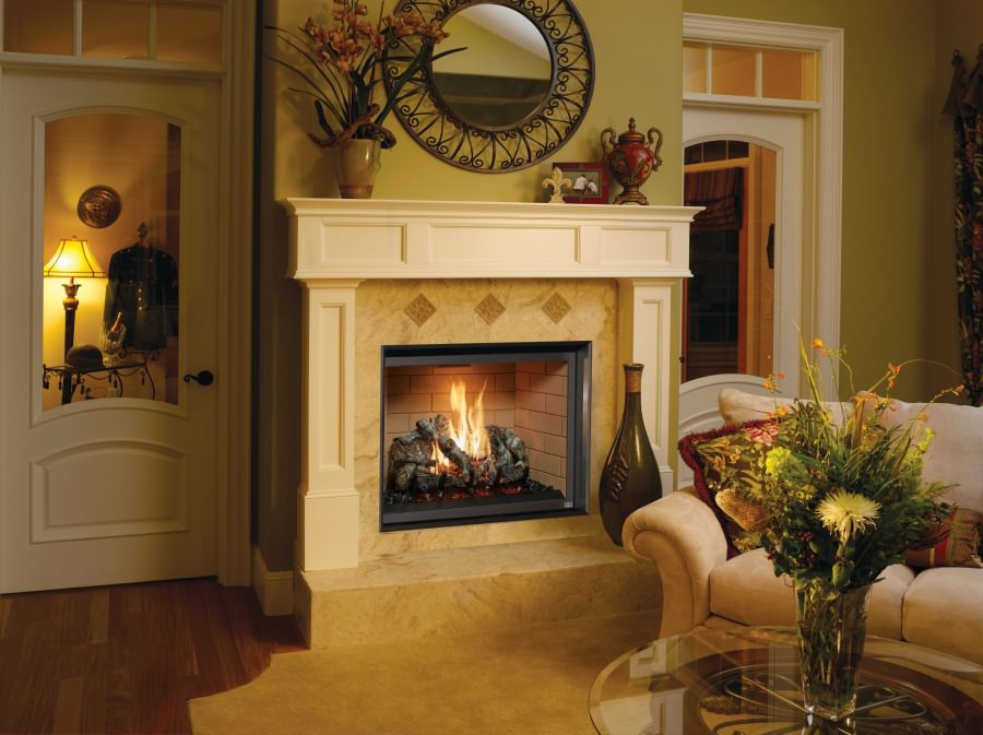 864 TRV 40K Clean Face gas fireplace
