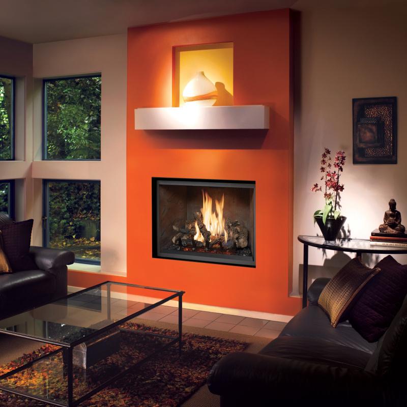 Fireplace Xtrordinair 864 TV 40K Clean Face Gas Fireplace 2