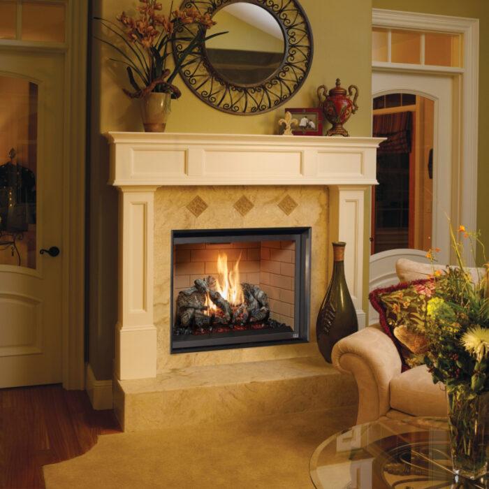 Fireplace Xtrordinair 864 TV 40K Clean Face Gas Fireplace 3