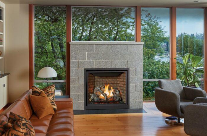 Probuilder 36 Clean Face Gas Fireplace