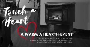 Touch a Heart & Warm a Hearth Event