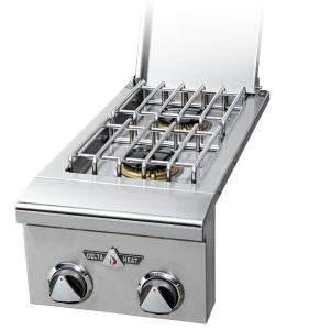 DELTA HEAT SINGLE SIDE BURNER, DROP-IN