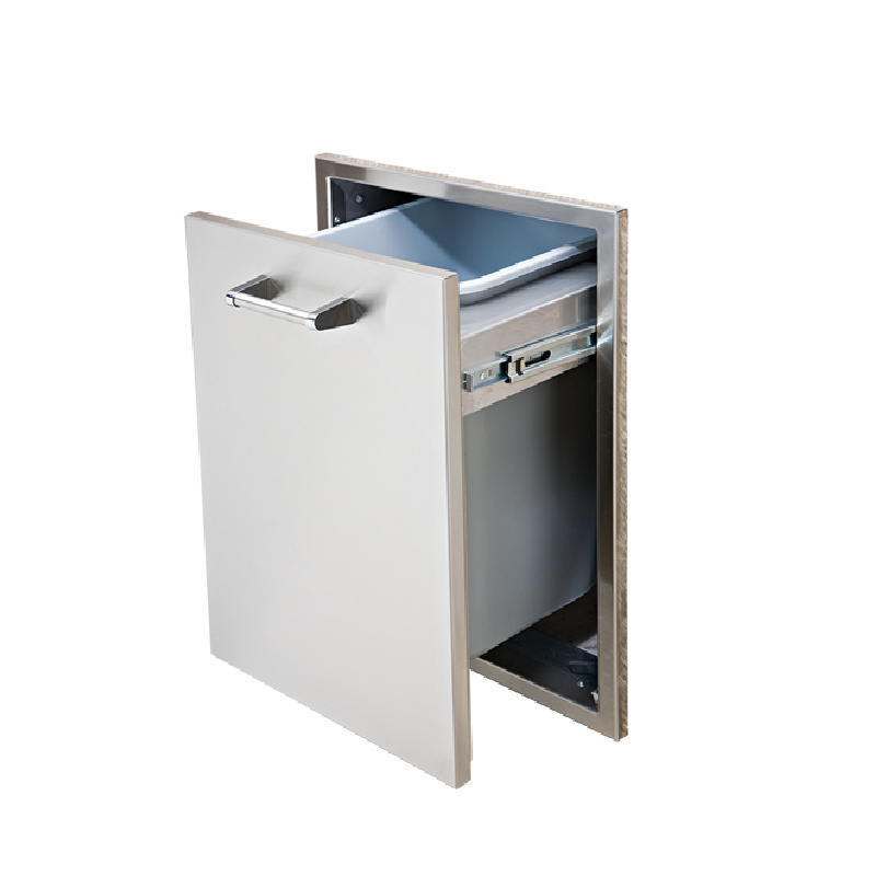 TALL TRASH DRAWER SINGLE OR DOUBLE