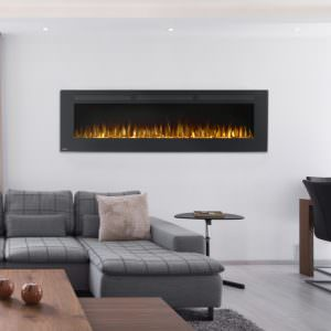 Allure 72 electric fireplace